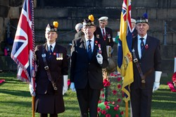 Royal British Legion - Garden of Remembrance Edinburgh 2014