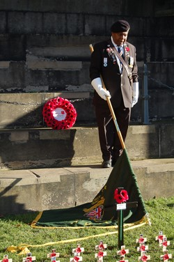 Andy Owens National Malaya and Borneo Veterans Association - Garden of Remembrance Edinburgh 2014