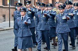 RAF - Remembrance Sunday Glasgow 2014