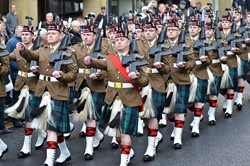 6 Scots - Remembrance Sunday Glasgow 2014