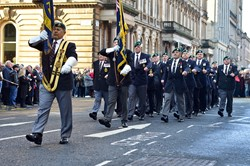 Royal Marine Veterans - Glasgow Remembrance Sunday 2014