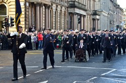 Royal Artillery Association - Remembrance Sunday Glasgow 2014
