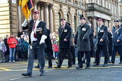 Veterans - Remembrance Sunday Glasgow 2014