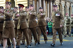 British Armed Forces - Remembrance Sunday Glasgow 2014