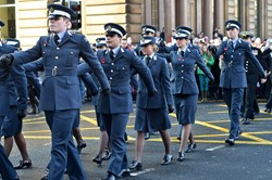 UGSAS Parade - Remembrance Sunday Glasgow 2014