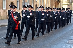 Fire Brigade - Remembrance Sunday Glasgow 2014