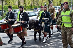 Cruachan III on Parade - Victory in Europe, Glasgow 2015