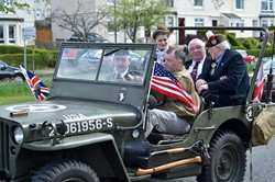 Vintage Military Vehicle - Victory in Europe 2015