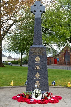 Veterans Memorial Knightswood, Glasgow 2015