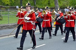Band of The King's Division Freedom Parade Maryport 2015