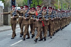 Duke of Lancaster's Regiment Parade - Maryport, Cumbria 2015
