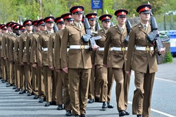 Duke of Lancaster's Regiment Maryport Cumbria 2015