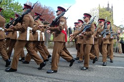 Duke of Lancaster's Regiment 1st Battalion Maryport 2015