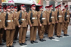 Soldiers Duke of Lancaster's Regiment - Maryport 2015