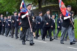 Military Veterans - Armed Forces Day 2015 Stirling