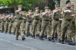 Army Cadets - Armed Forces Day 2015 Stirling