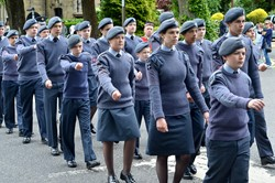 Air Cadets (ATC) - Armed Forces Day 2015 Stirling