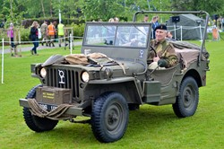 Vintage Military Vehicle - Armed Forces Day 2015 Stirling