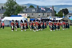 Band of the Royal Regiment of Scotland - Armed Forces Day 2015 Stirling