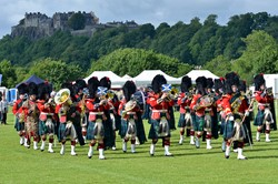 Band of the Royal Regiment of Scotland Stirling AFD 2015