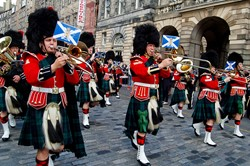 Band of the Royal Regiment of Scotland - Waterloo Anniversary Edinburgh 2015