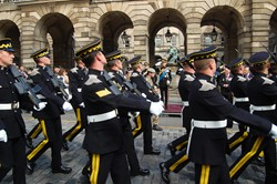 Duke of Kent - Royal Scots Dragoon Guards Edinburgh 2015