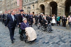 Royal Scots Dragoon Guards Veterans - Waterloo Anniversary Edinburgh 2015