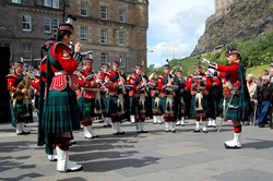 Band of the Royal Regiment of Scotland - Grassmarket Edinburgh AFD 2015