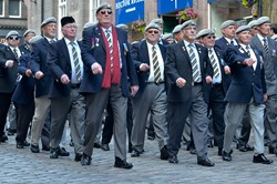 Veterans Royal Scots Dragoon Guards Association Edinburgh 2015