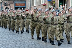 Cadets Royal Scots Dragoon Guards - Edinburgh 2015