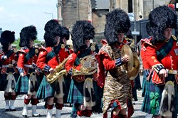 Band of the Royal Regiment of Scotland - Armed Forces Day 2015 Edinburgh
