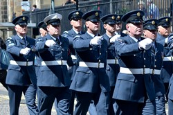 RAF Regiment Armed Forces Day 2015 Edinburgh