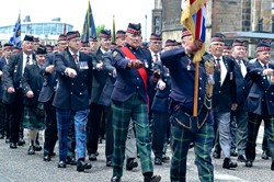 Royal Scots Veterans - Armed Forces Day 2015 Edinburgh