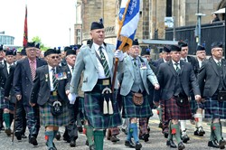 Veterans Parade on Armed Forces Day 2015 Edinburgh