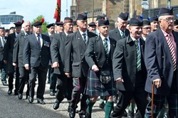 Veterans on Parade - Armed Forces Day 2015 Edinburgh