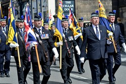 Royal British Legion Armed Forces Day 2015 Edinburgh