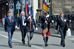 Veterans Scots Guards - Armed Forces Day 2015 Edinburgh