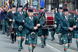 Royal Scots Association Pipe Band - AFD Edinburgh 2015