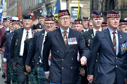 Royal Scots (The Royal Regiment) Veterans - Edinburgh AFD 2015