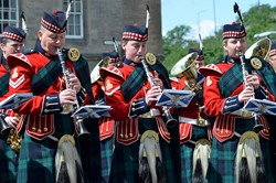 Band of the Royal Regiment of Scotland - Grassmarket Edinburgh AFD