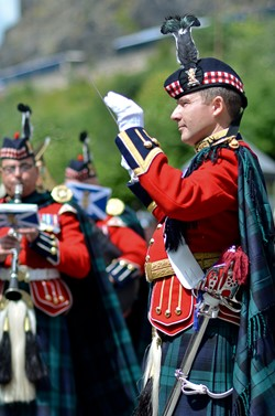 Tony Williams Band of the Royal Regiment of Scotland - AFD Edinburgh 2015