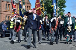 Veterans on Parade - Victory in Japan, Knightswood, Glasgow 2015