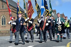 Parade of Veterans - Victory in Japan, Knightswood, Glasgow 2015