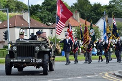 VJ Parade - Victory in Japan, Knightswood, Glasgow 2015