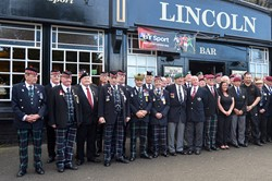 Veterans at the Lincoln Inn - Victory in Japan, Knightswood, Glasgow 2015