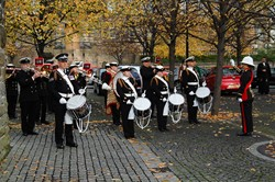HMS Neptune Band - Seafarers Service at Glasgow Cathedral 2015