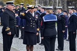 Sea Cadets Inspection - Seafarers Service at Glasgow Cathedral 2015