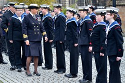 Sea Cadets on Parade - Seafarers Service at Glasgow Cathedral 2015