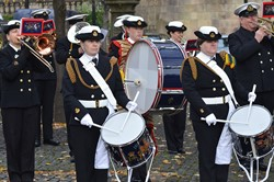 Royal Naval Volunteer Band HMS Neptune - Seafarers Service Glasgow Cathedral 2015