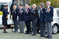 Glasgow Royal Naval Association Veterans - Seafarers Service at Glasgow Cathedral 2015
